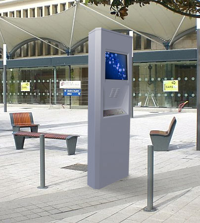 Borne interactive corner outdoor for Borne tactile exterieur