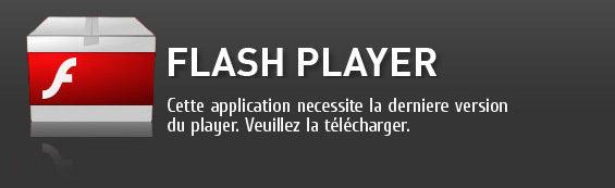 installez flash player